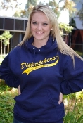 "Hoodie with Yellow ""Dispatchers"""