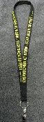 Dispatcher at Work Stay Back Lanyard