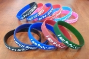 9-1-1 STRONG 9-1-1 Proud!? Adult Sized Wristbands