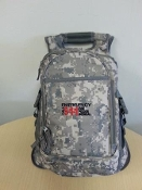 Embroidered E9-1-1 Digital Camo Backpack