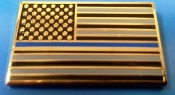 The Blue Line Flag Pin