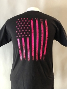 USA BREAST CANCER UNISEX  T-SHIRT