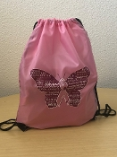 Cancer Awareness Butterfly Cinch Pack
